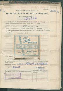 brevetto OLVA Pastry1956